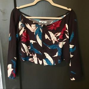 Tularosa Floral Francesca Crop Top